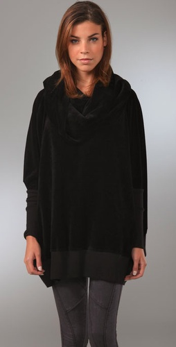 Aiko Bourdin Velour Tunic