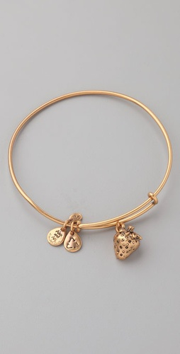 Alex And Ani Strawberry Expandable Wire B