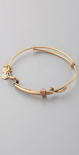 Alex And Ani Cross Wrap Expandable Wire B