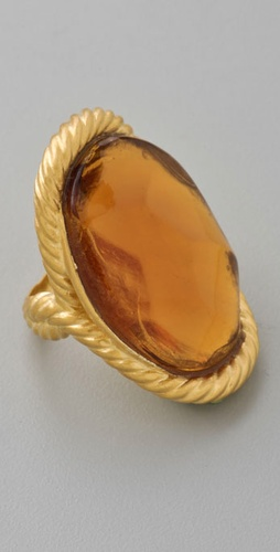 Alexis Bittar Vendome Citrine Ring