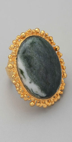 Alexis Bittar Agate Ring