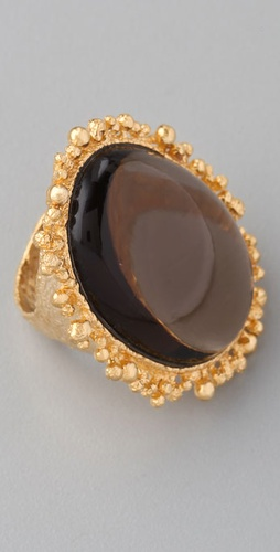 Alexis Bittar Smoky Quartz Ring