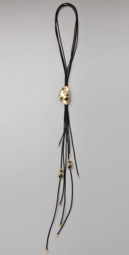 Alexis Bittar Encrusted Lariat Necklace