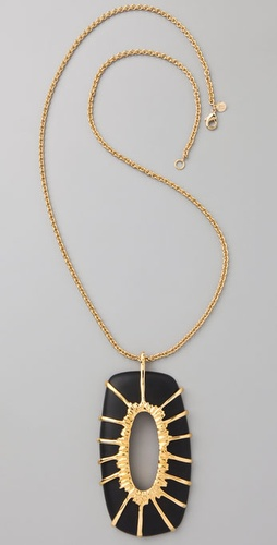 Alexis Bittar Starburst Pendant Necklace