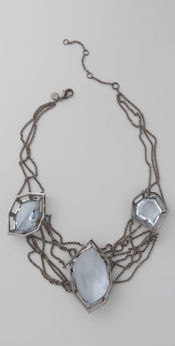 Alexis Bittar Georgian Linked Necklace