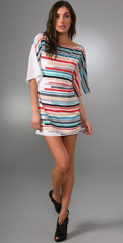Alice + Olivia Kingsley Kimono Tunic Dress from shopbop.com