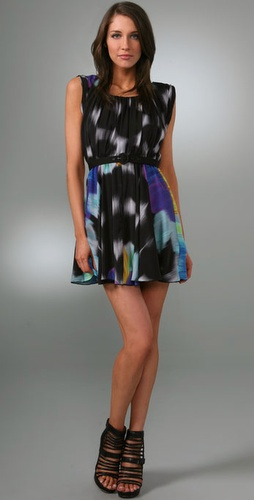 Alice   Olivia Laurie Tie Dye Dress