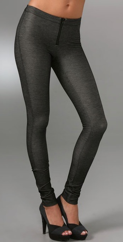 Alice   Olivia Denim Style Leggings With