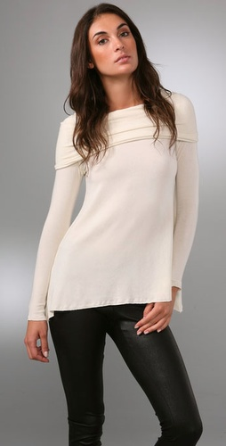 Alice   Olivia Off The Shoulder Sweater