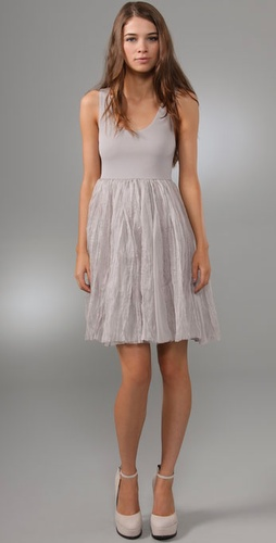 Alice   Olivia Dress With Organza Skirt
