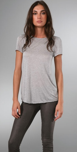 Alice   Olivia Drape Tee