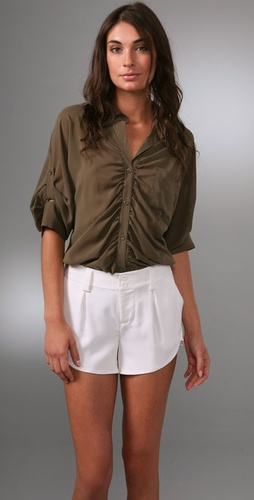 Alice   Olivia Parachute Button Down Shir