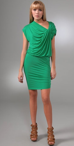 Alice + Olivia Carla Twisted Dress