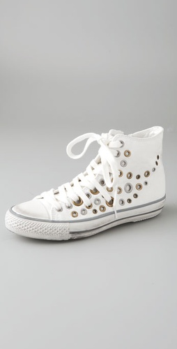 Ash Volcan High Top Sneakers with Grommets