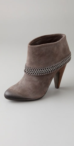 Ash Iman Cuff Suede Booties