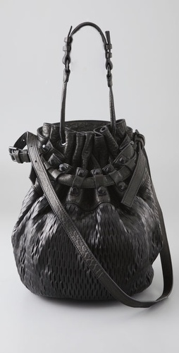 Alexander Wang Diego Mesh Bucket Bag