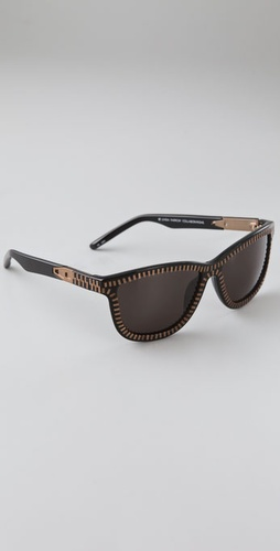 Alexander Wang Zipper Frame Sunglasses