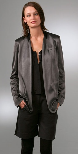 Alexander Wang Drapey Elongated Blazer