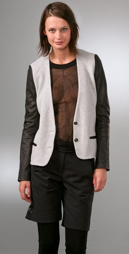 Alexander Wang Oversized Soft Blazer With