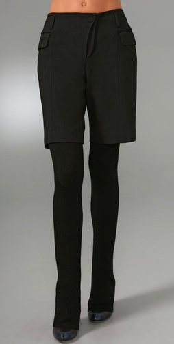 Alexander Wang Shorts With Blazer Detail