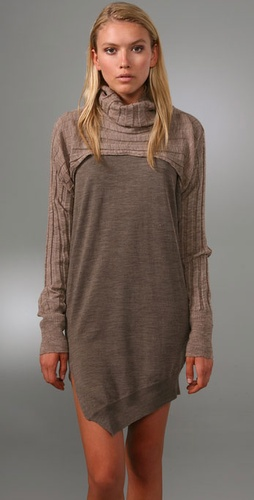 Alexander Wang Cropped Turtleneck Shrug