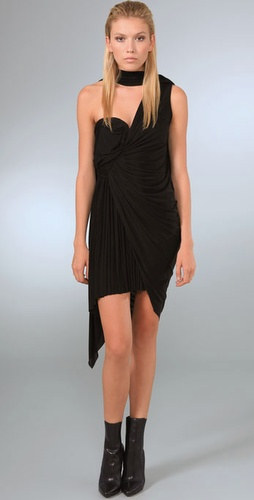 Alexander Wang Draped Asymmetrical Dress