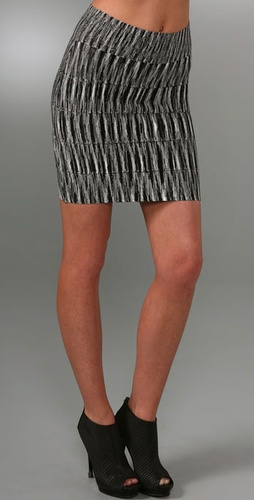 Bcbgmaxazria Space Dye Skirt