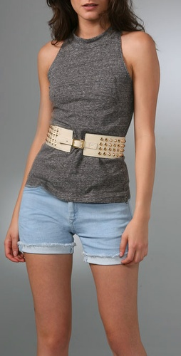 Be & D Garbo Studded Belt
