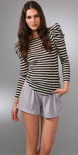 Bird by Juicy Couture Puff Sleeve Top