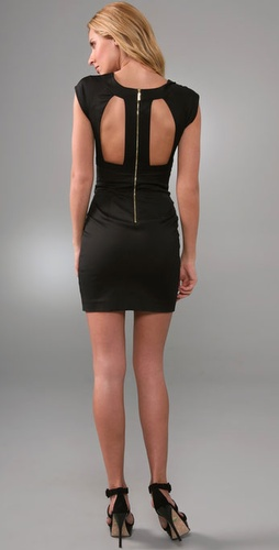 Black Halo Alice Mini Dress