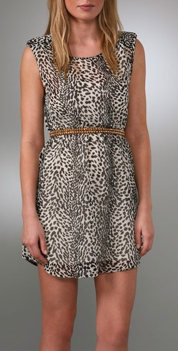 B-low The Belt Lindsay Stackable Leopard