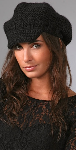 Bop Basics Thick Knit Newsboy Cap