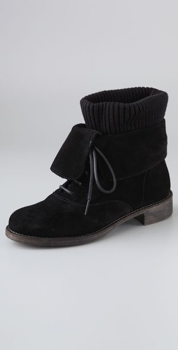 Boutique 9 Napolita Suede Booties With Wo