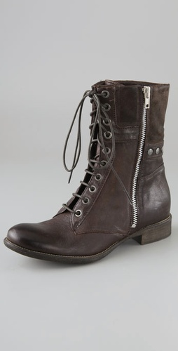 Boutique 9 Rivit Lace Up Flat Boots