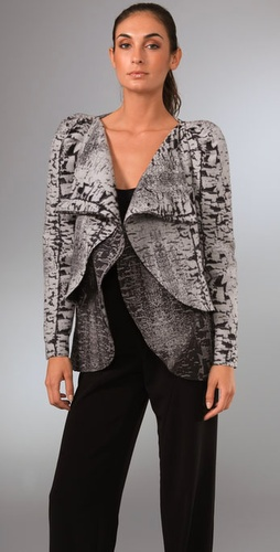 Brian Reyes Tree Bark Tulip Jacket