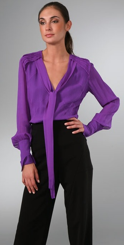 Brian Reyes Flutter Blouse
