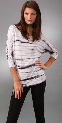 C&c California 3/4 Dolman Sleeve Top