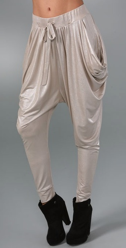 Catherine Malandrino Draped Pants