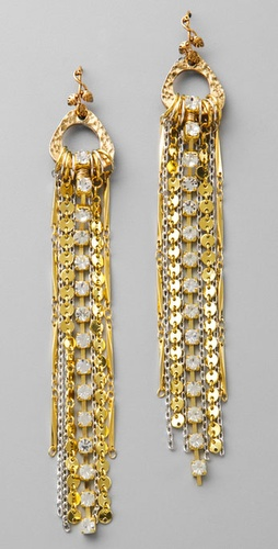 Victorian Hippie Mixed Chain Earrings from shopbop.com
