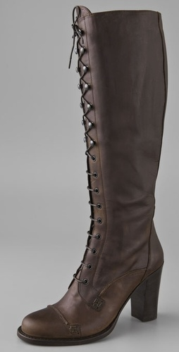 Charles David Rigorous Lace Up Boots
