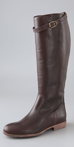 Charles David Rouse Flat Riding Boots