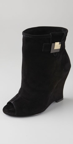 Charlie My Love Willy Open Toe Suede Boot