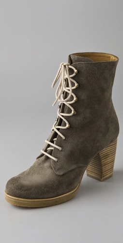 Chie Mihara Shoes Pinya Suede Booties