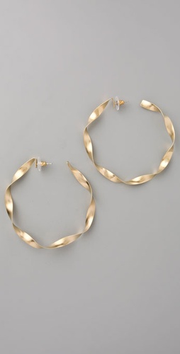 Citrine By The Stones Samba Sol Hoops