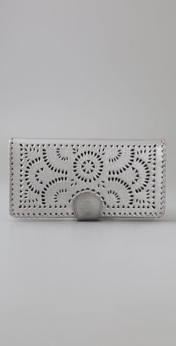 Cleobella Metallic Mexicana Wallet