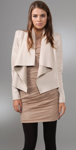 camilla and marc Adora Leather Blazer
