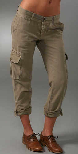Current/elliott The Slouchy Skinny Cargo