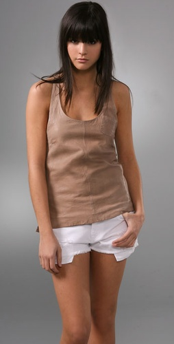 Dallin Chase Paisano Leather Tank