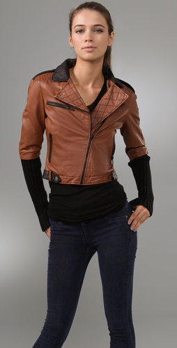 Dallin Chase Dickie Leather Jacket