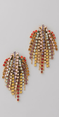 Dannijo Cecile Mixed Earrings